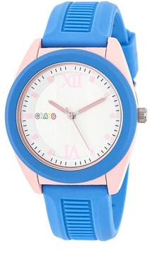 Crayo Praise Collection CRACR3605 Tonneau-Shaped Light Pink Analog Watch