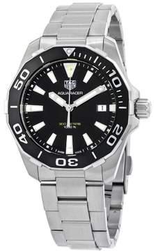 Tag Heuer Aquaracer Black Dial Quartz Men's Watch WAY111A.BA0928