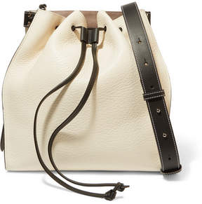 J.W.Anderson Textured-leather Bucket Bag - White