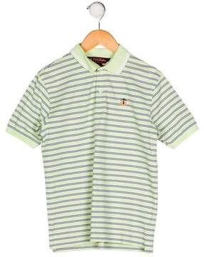Brooks Brothers Boys' Stripe Collared Shirt