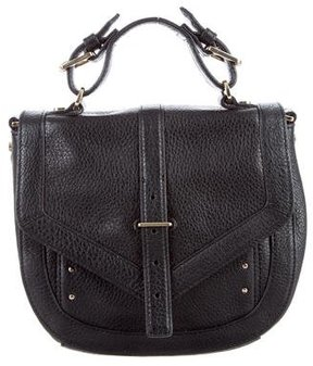 Tory Burch Grained Leather Bag - BLACK - STYLE