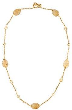 Di Modolo Triadra Rutilated Quartz Necklace
