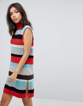 BOSS ORANGE Stripe Knit Dress