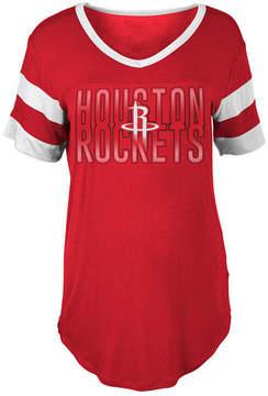 5th & Ocean Women's Houston Rockets Hang Time Glitter T-Shirt