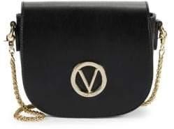 Mario Valentino Josette Leather Saddle Crossbody Bag