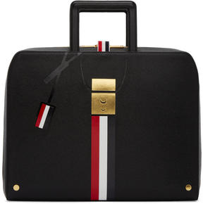 Thom Browne Black Trompe LOeil Mr. Thom Folio Briefcase