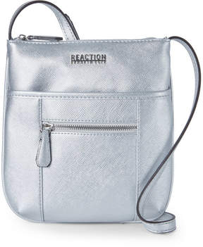 Kenneth Cole Reaction Silver Pam Mini Crossbody