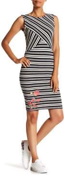 Desigual Sleeveless Striped Dress