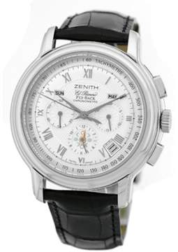 Zenith Grande Flyback Chronomaster XT 03.1250.4009/01.c495 Stainless Steel 42mm Mens Watch