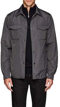Fay Men's Tech-Fabric Shirt Jacket