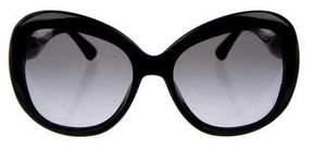 Miu Miu Oversize Round Sunglasses