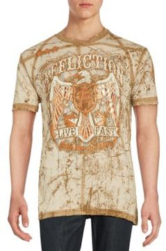 Affliction Cotton Crewneck Tee