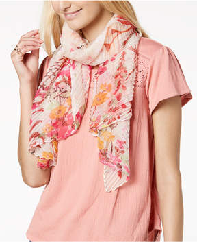 INC International Concepts I.n.c. Garden Growth Pleated Scarf, Created for Macy's