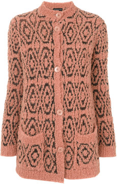 Etro patterned oversized cardigan