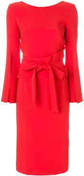 P.A.R.O.S.H. belted midi dress