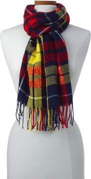 Lands' End Lands'end Women's Boucle Plaid Scarf