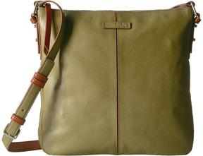 Vera Bradley Gallatin Crossbody Cross Body Handbags - BITTERSWEET CHOCOLATE - STYLE
