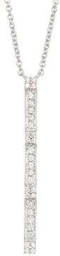 Bony Levy 18K White Gold Diamond Pendant Necklace - 0.13 ctw