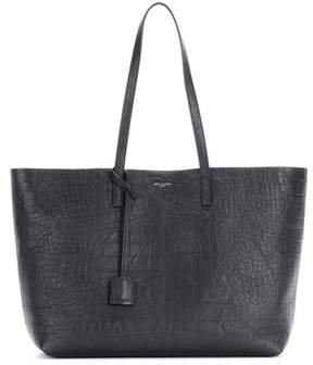 Saint Laurent Large Shopping leather shopper - BLACK - STYLE