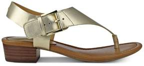 Tommy Hilfiger Womens Kitty Open Toe Casual T-Strap Sandals LL