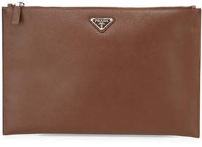 Prada Leather Portfolio Case