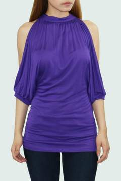 Cezanne Cut Out Sleeve Top