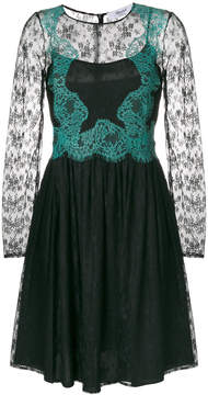 Blugirl layered floral lace dress
