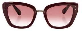 Marc Jacobs Gradient Cat-Eye Sunglasses