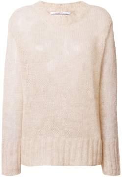 Agnona oversized textured sweater