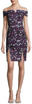 Alexia Admor Women's Floral Off-the-Shoulder Dress