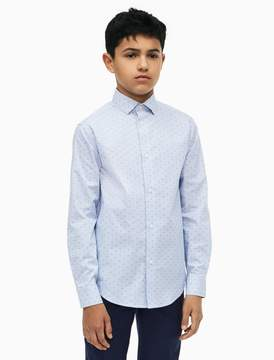 Calvin Klein boys diamond check shirt