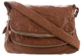 Donna Karan Leather Messenger Bag