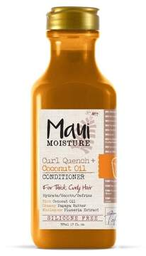Maui Moisture Curl Quench + Coconut Oil Conditioner for Thick Curly Hair - 13oz