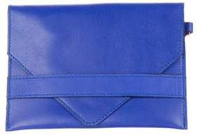 Etro Leather Envelope Clutch