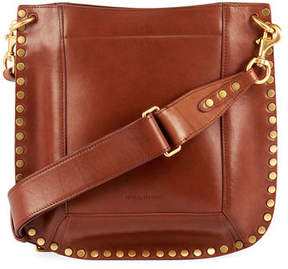 Isabel Marant Oskan Iconic Studded Leather Hobo Bag