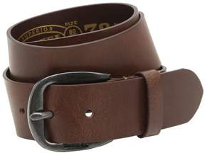 Diesel 40mm Treated Leather Belt