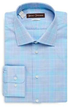 Hickey Freeman Glen Cotton Dress Shirt