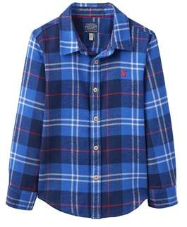 Joules Kids' Brushed Cotton Shirt.