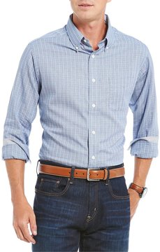 Daniel Cremieux Glen Plaid Long-Sleeve Woven Shirt
