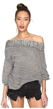 Free People Off The Shoulder Sweater.