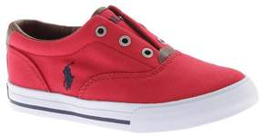 Polo Ralph Lauren Unisex Children's Vito II Laceless Sneaker - Little Kid