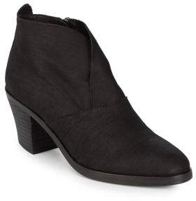 Eileen Fisher Intaglio Leather Booties