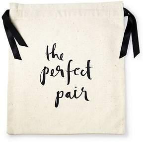 Kate Spade The Perfect Pair Cotton Shoe Bag