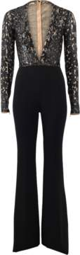 MICHAEL KORS Embroidered Bodice Jumpsuit