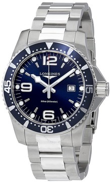 Longines HydroConquest Blue Dial Stainless Steel Men's Watch