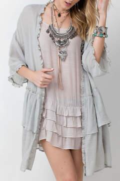 Easel Kimono Cuff Detail