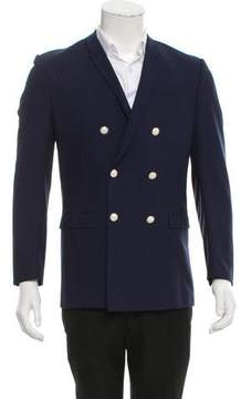 Christian Dior Virgin Wool Double-Breasted Blazer