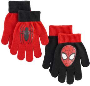 Marvel Boys Spider-Man 2-Pack Gloves