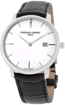 Frederique Constant Slimline FC306S4S6 Stainless Steel Silver Dial 40mm Mens Watch