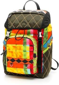 Prada Patch Nylon Backpack